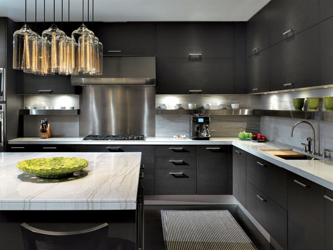 Luxe Kitchen Cabinets