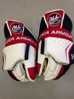 Under Armour Custom A L L Pro Box Lacrosse Goalie Gloves Box Lacrosse Goalie Gloves Lacrosse Goalie