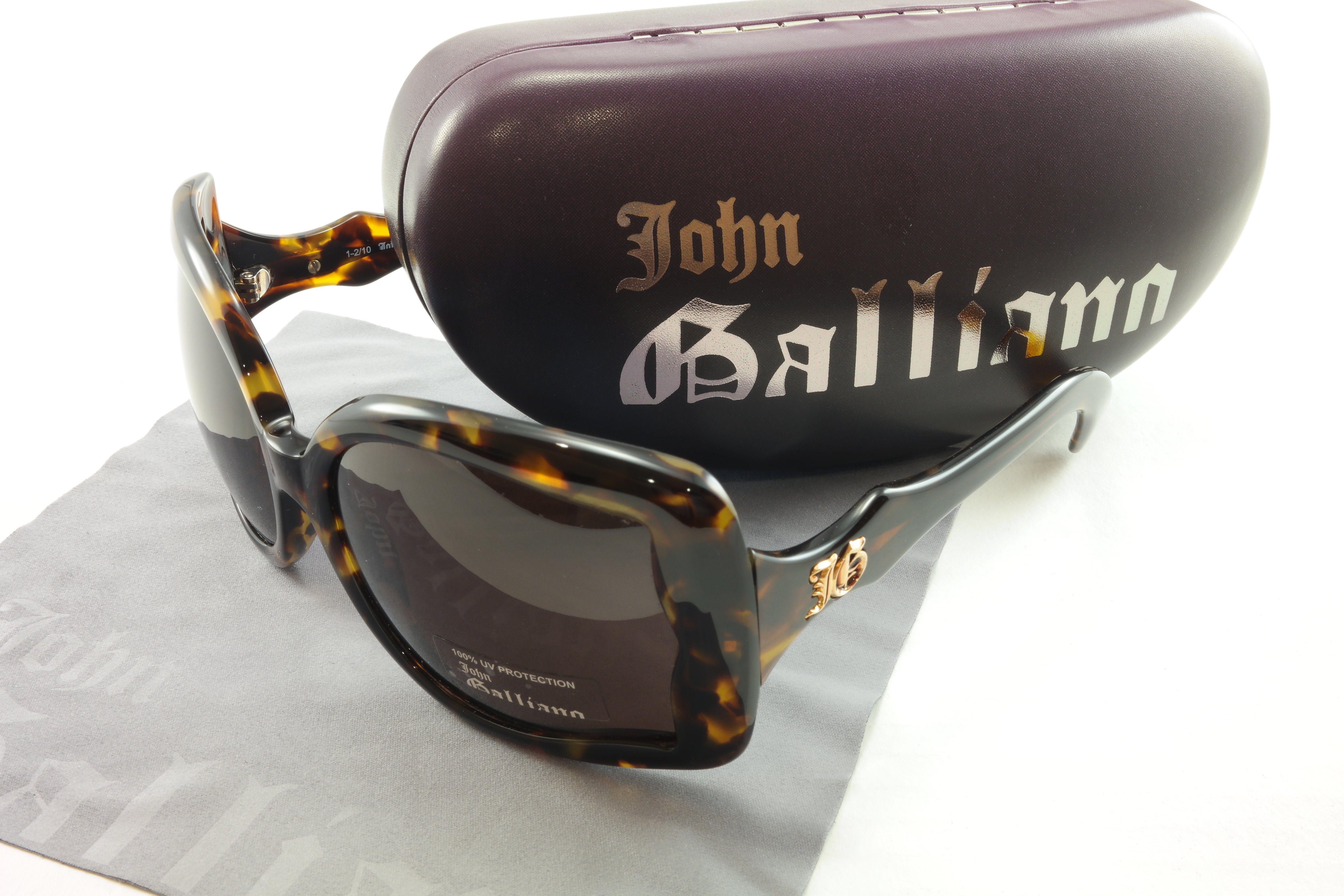 eaacd8fc310 John Galliano Sunglasses Frame JG06 53E Acetate Tortoise Italy in ...