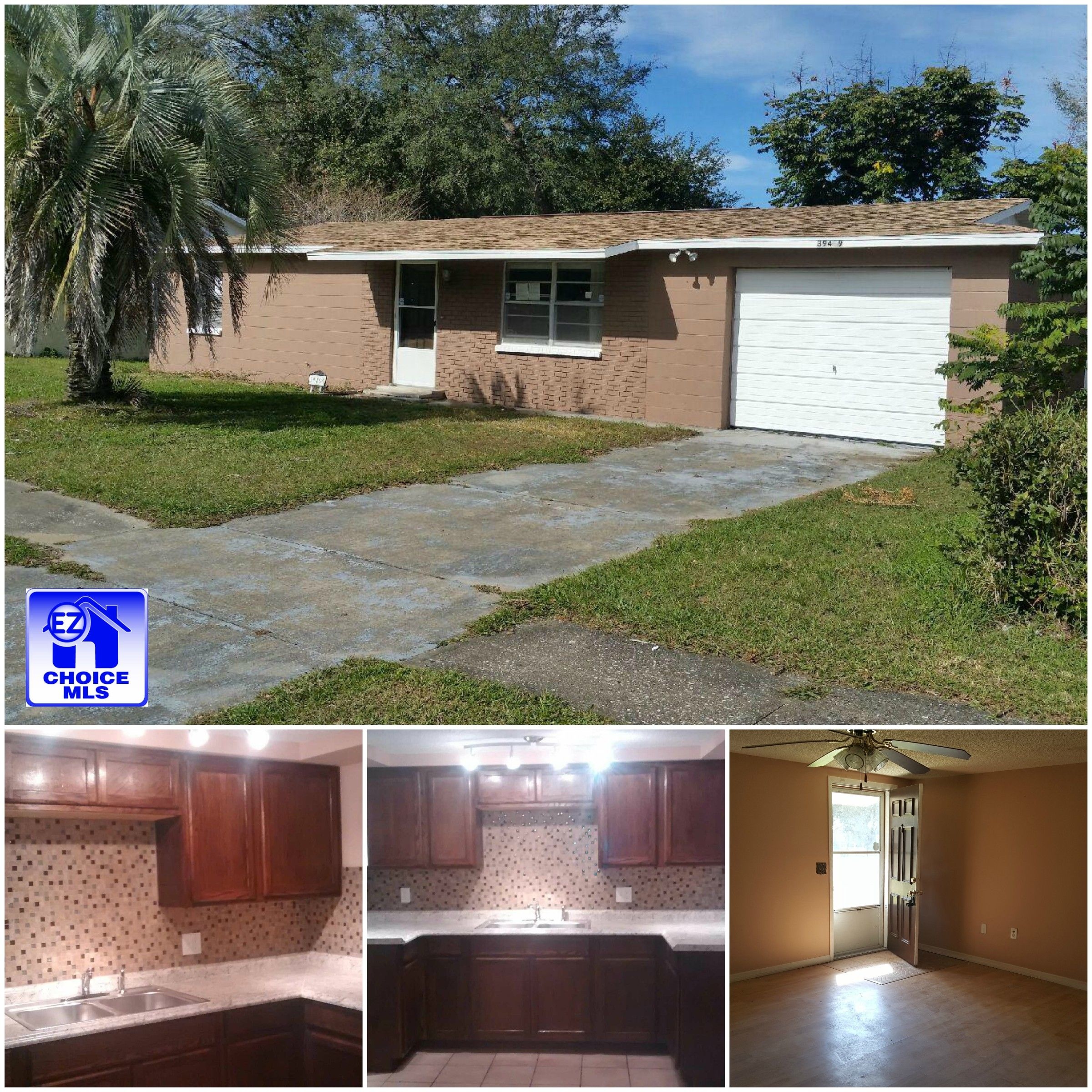 Wonderful Zephyrhills 3 Bedroom Home With Many New Features 39409 9th Ave Zephyrhills Fl 33542 Sale 92 000 N Florida Room Real Estate Office Roof Detail