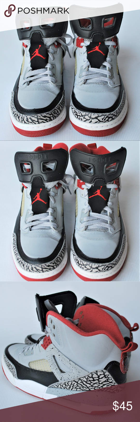 Nike Air Jordan Spizike Brooklyn Grey