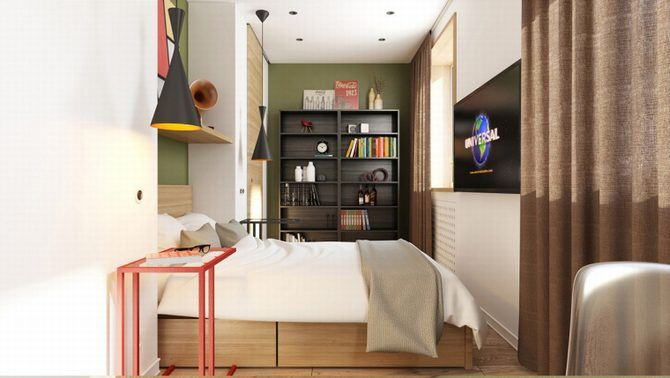 These 3 colorful apartments are cozy and homey even though they use bright colors in their designs dont think green walls can be cozy