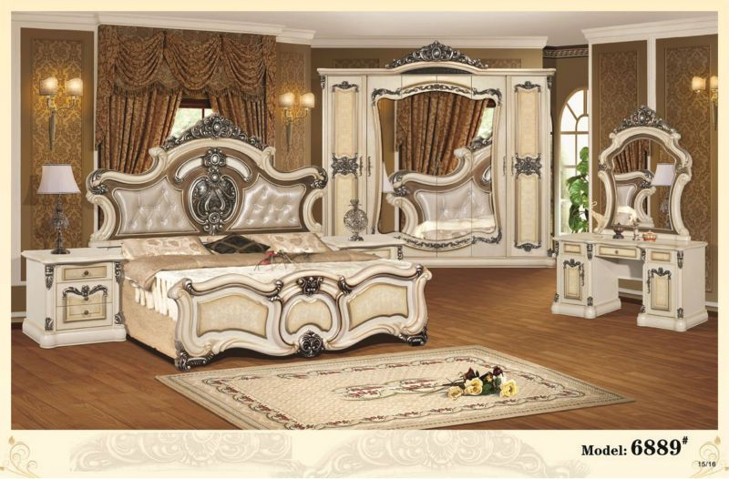 Lovely New Design European Style Bedroom Furniture,Bedroom Furniture Set With  Discount Price On Sale