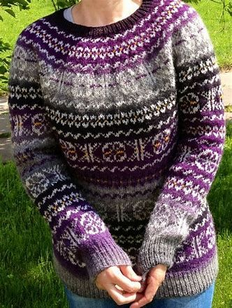 Image result for Fair Isle Knitting | Fair Isle knitting | Pinterest