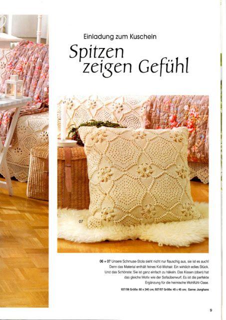 world crochet: pillow 44 | worldcrochet.blogspot.ba | pinterest, Einladung