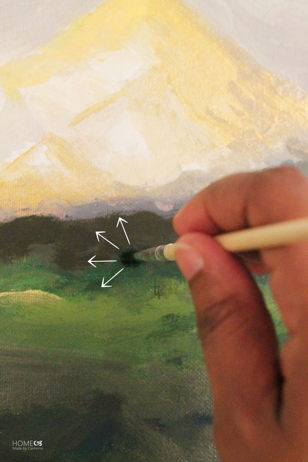 Learn to paint on pinterest acrylic painting lessons for Fo painting techniques