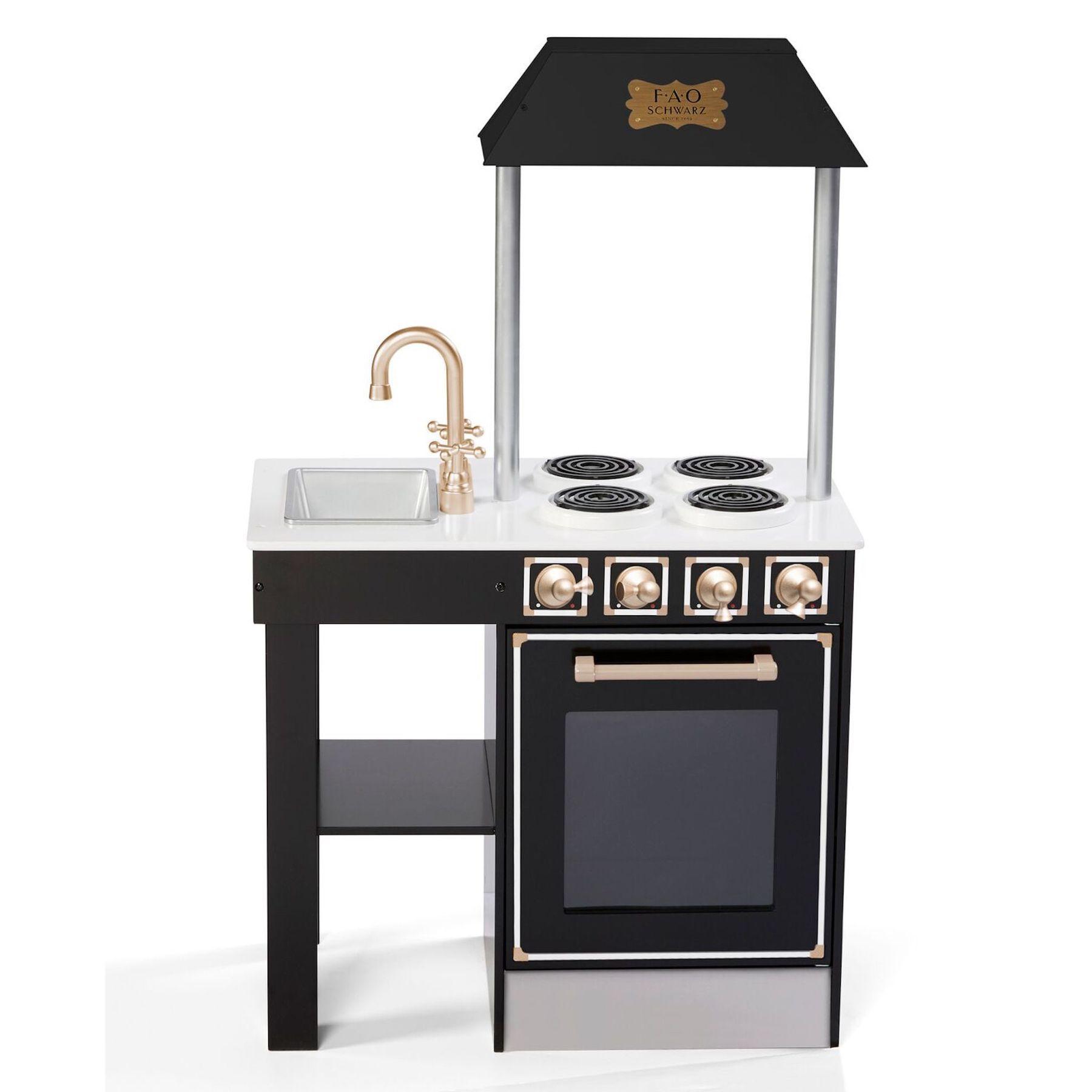 Wooden Kitchen Set FAO Schwarz Wooden kitchen set