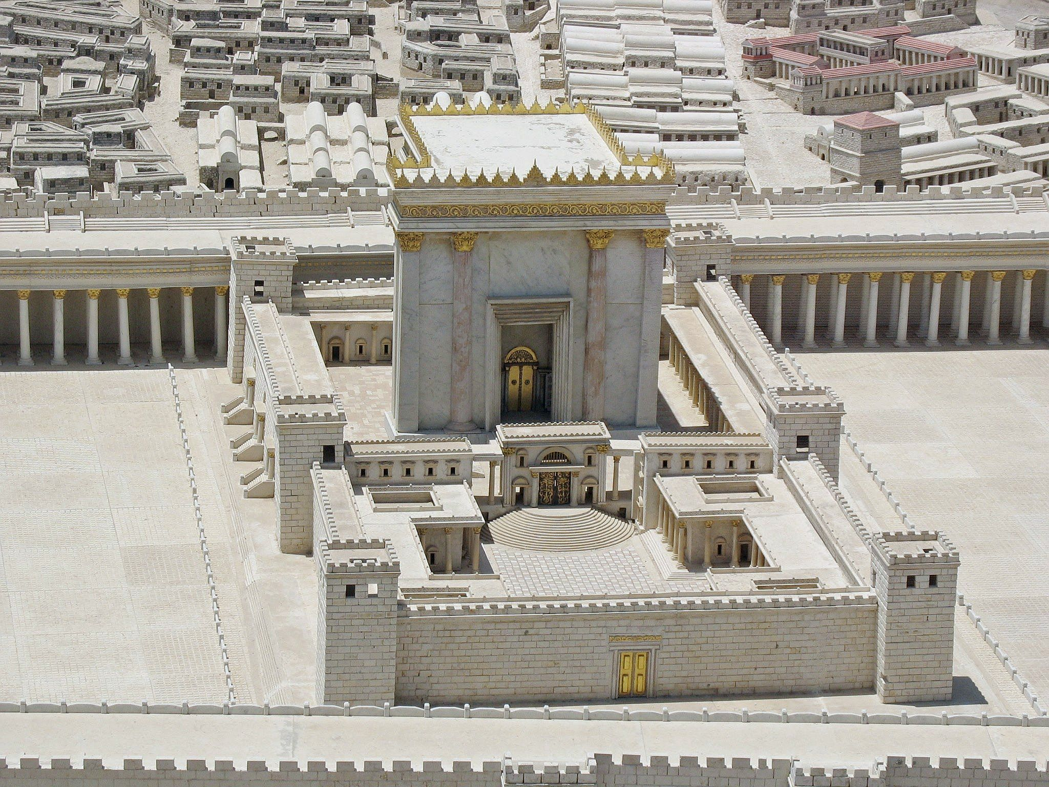 Image result for The Holy Temple in Jerusalem images