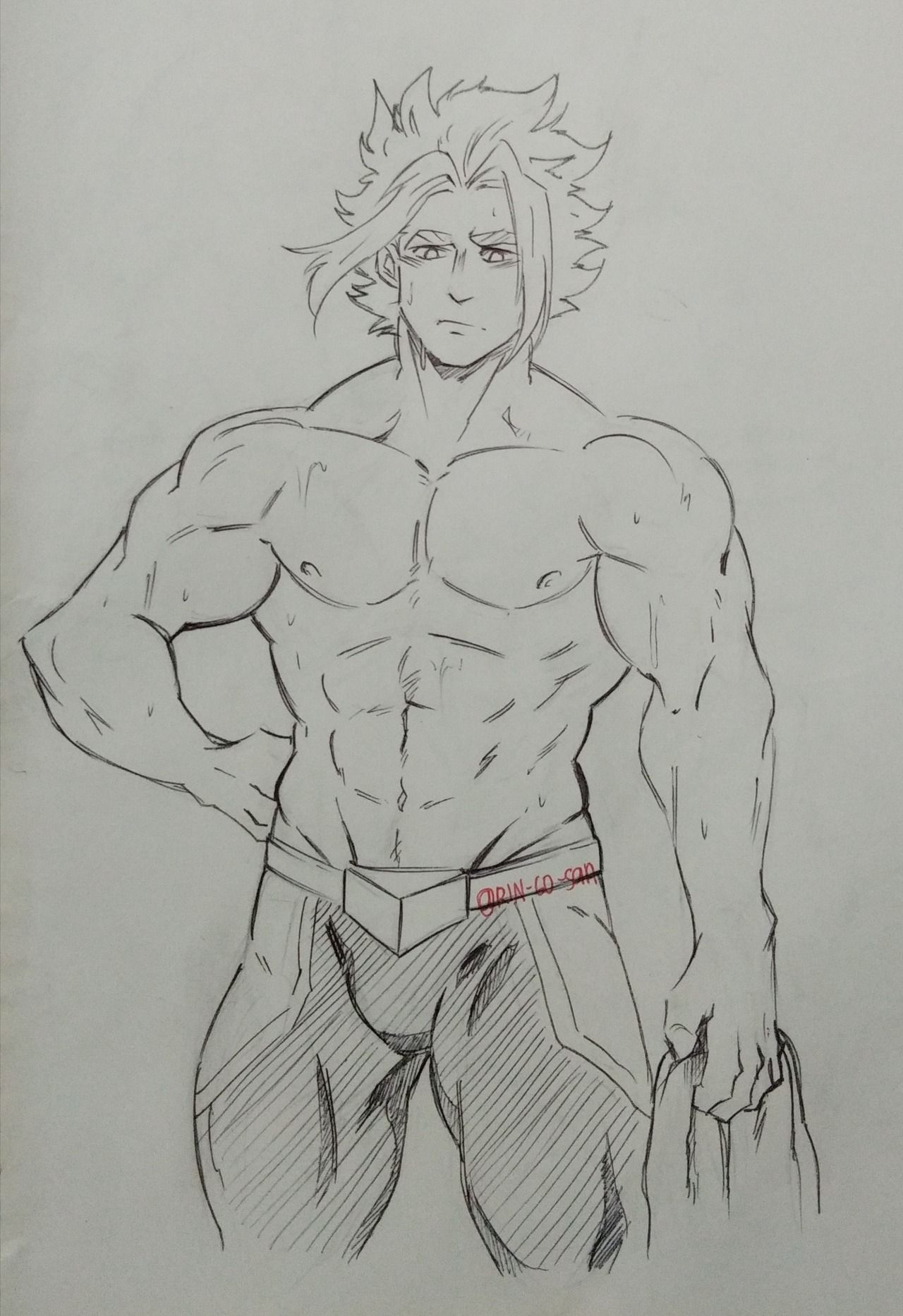 If All Might Didnt Get Hurt From All For One He Ll Look Like This