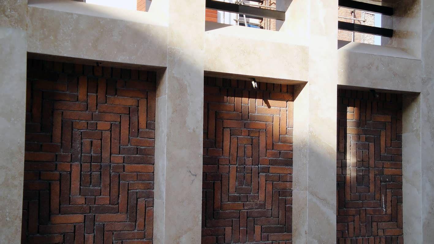 ساختمان مسکونی بجنورد - گروه ساختمانی مهرگان ایده
