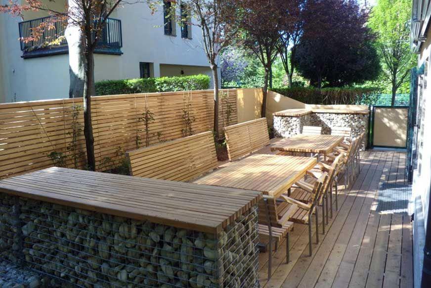 garten terrasse design – colorseven, Gartenarbeit ideen