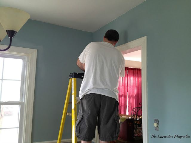 Gray Morning By Behr It Is The Match To Duck Egg Blue Annie Sloan