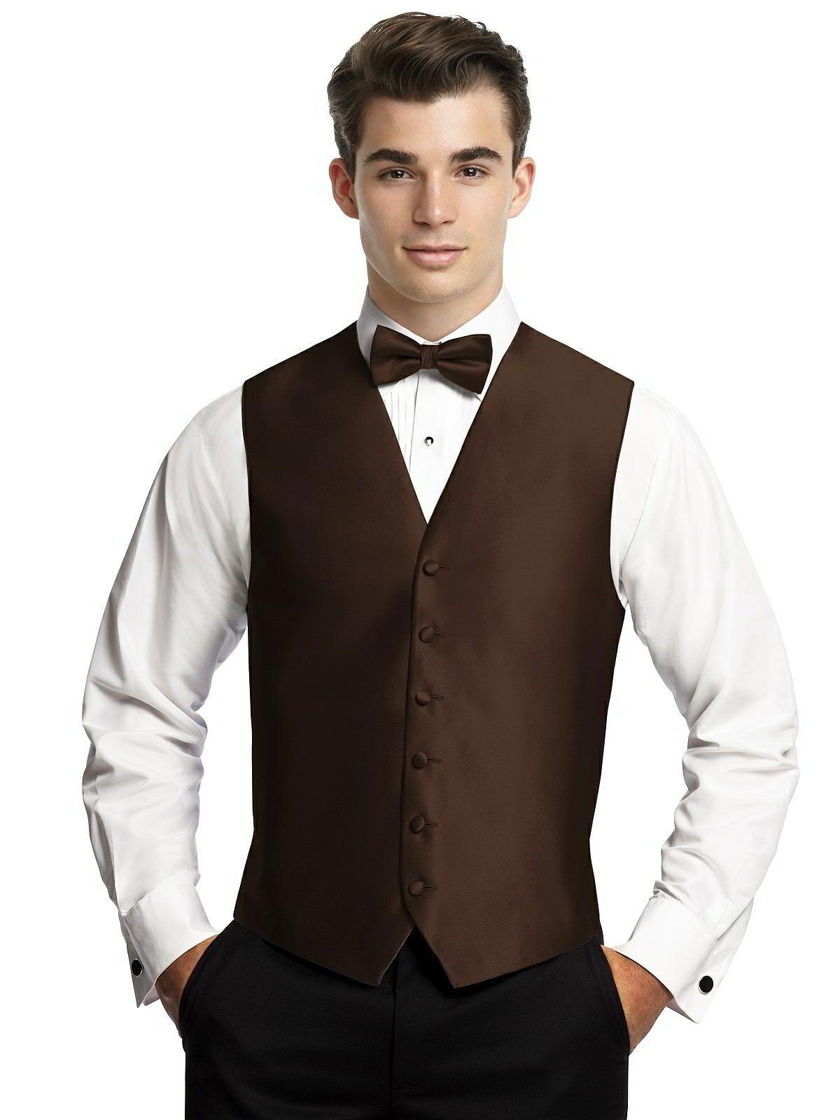 Men's Tuxedo Vest By After Six. Match Dessy Wedding Colors