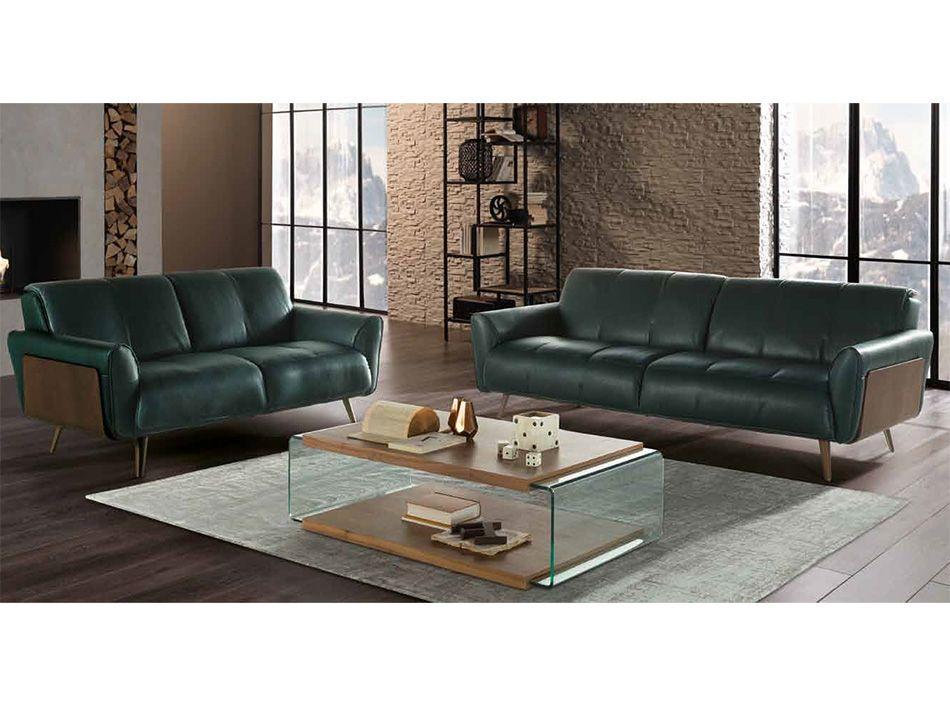 Talento B993 Tobia Leather Sofa By Natuzzi Editions Leather
