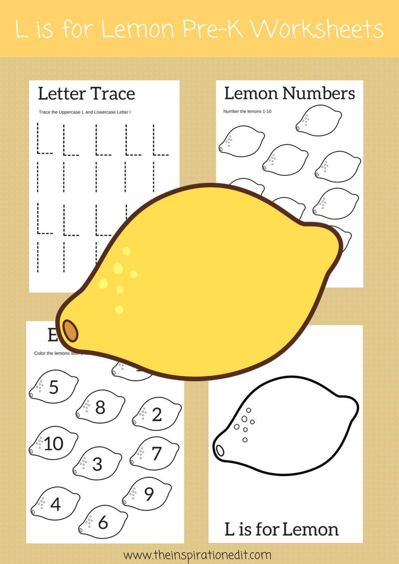 Letter L Worksheets For Pre School Kids Phonics Activities Letter L Worksheets Preschool Letters [ 1123 x 794 Pixel ]
