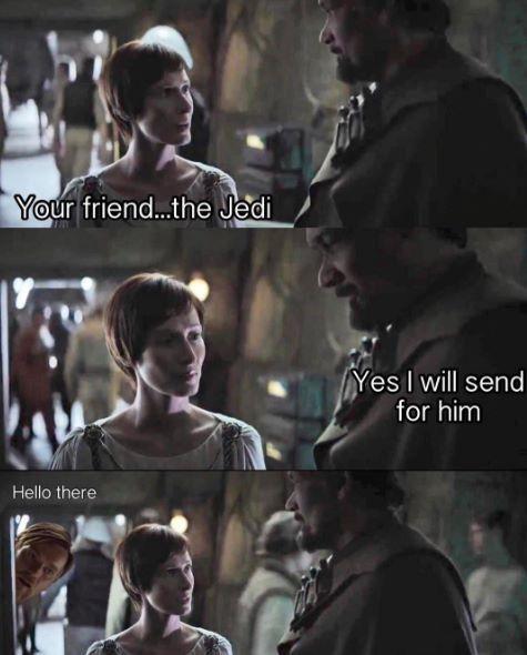 Obi Wan Hello There Meme Star Wars Humor Funny Star Wars Memes Star Wars Memes