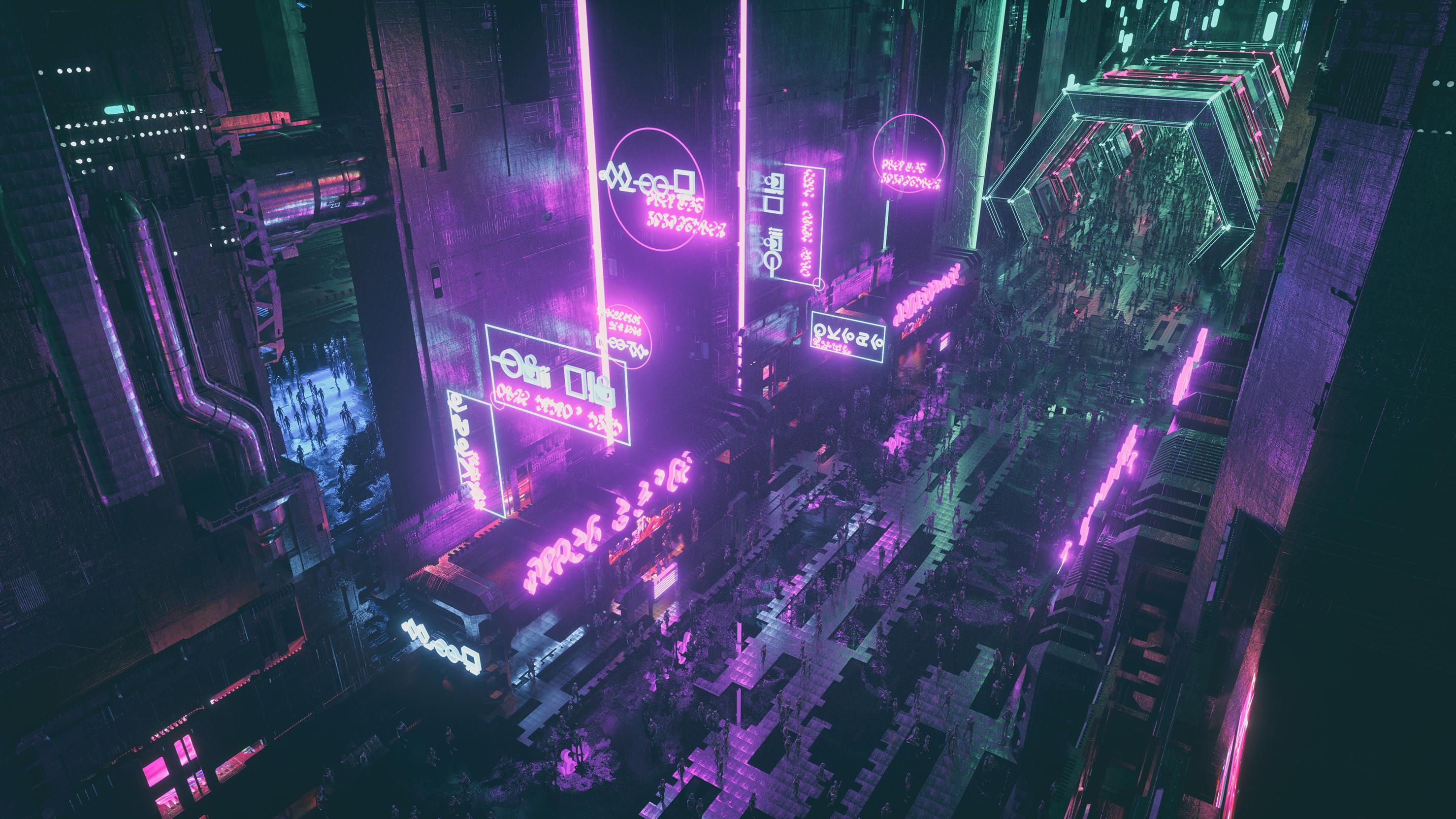 Lazerkid(WT) Concept Art #1 #cyberpunk #synthwave #futurism