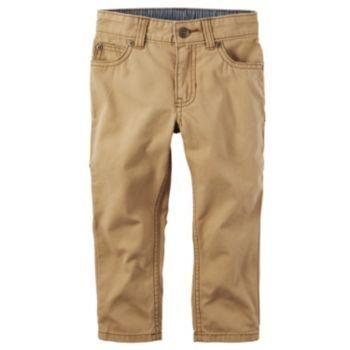 Boys 4 8 Carter S Khaki Carpenter Pants Khaki Pants Leggings Are Not Pants Kids Pants