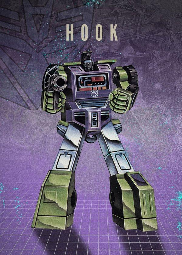 "Transformers Decepticons Hook #Displate explore Pinterest""> #Displate artwork by artist ""Rykker o7"". Part of…   Displate thumbnail"