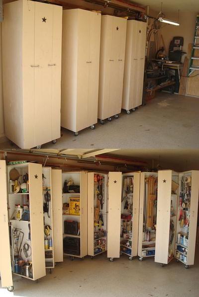 Rondslingerend gereedschap?. Maak uw eigen tool cabinet. Meer info op Hometalk; zoek op Richard H.