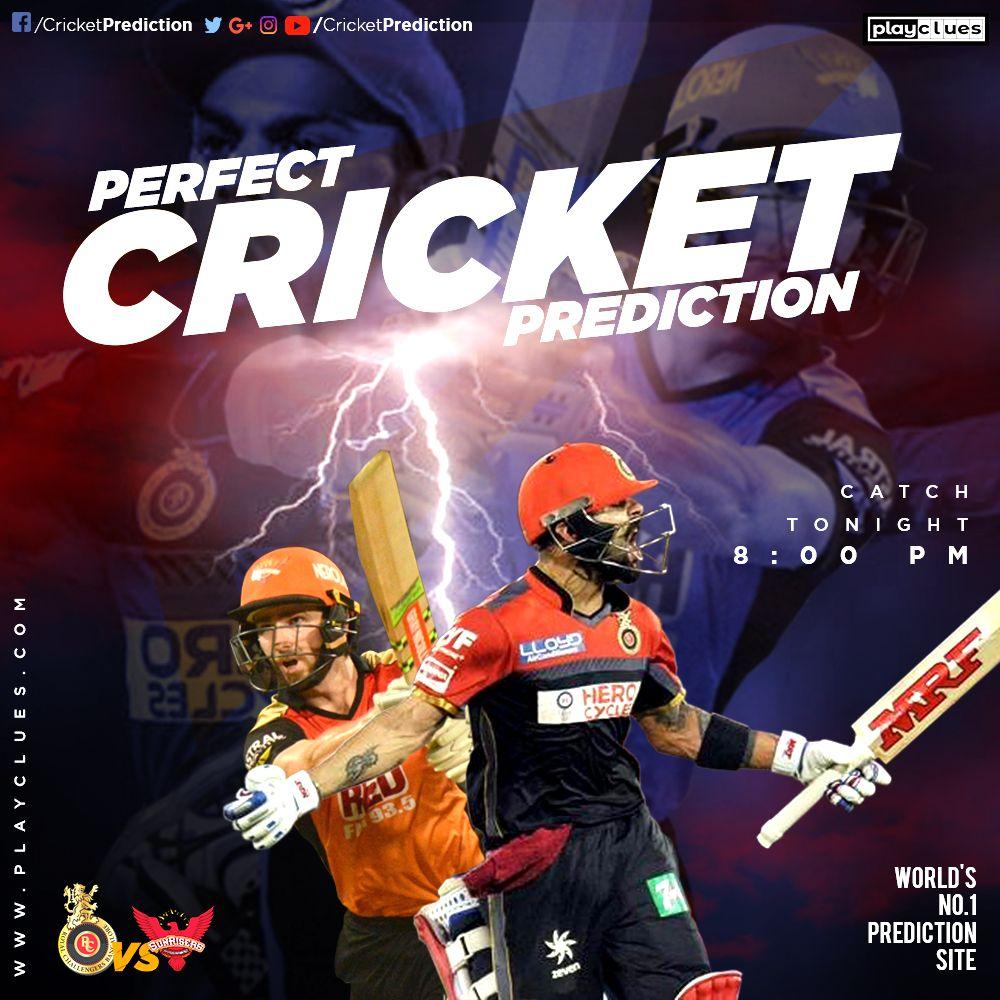 RCB vs SRH 4th May Predictions, Cricket, City club