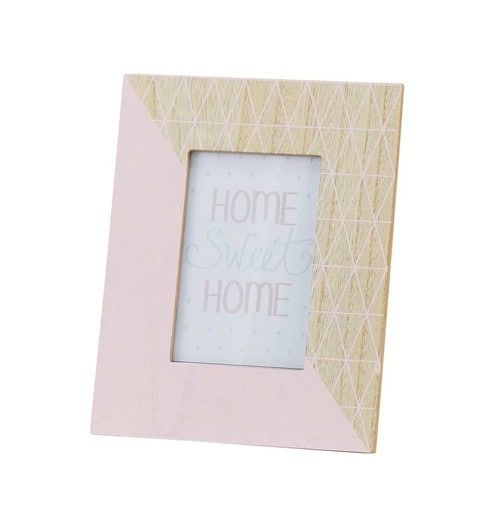 Graphic Pink Photo Frame 10 X 25 Cm Decorating Bedrooms And Room