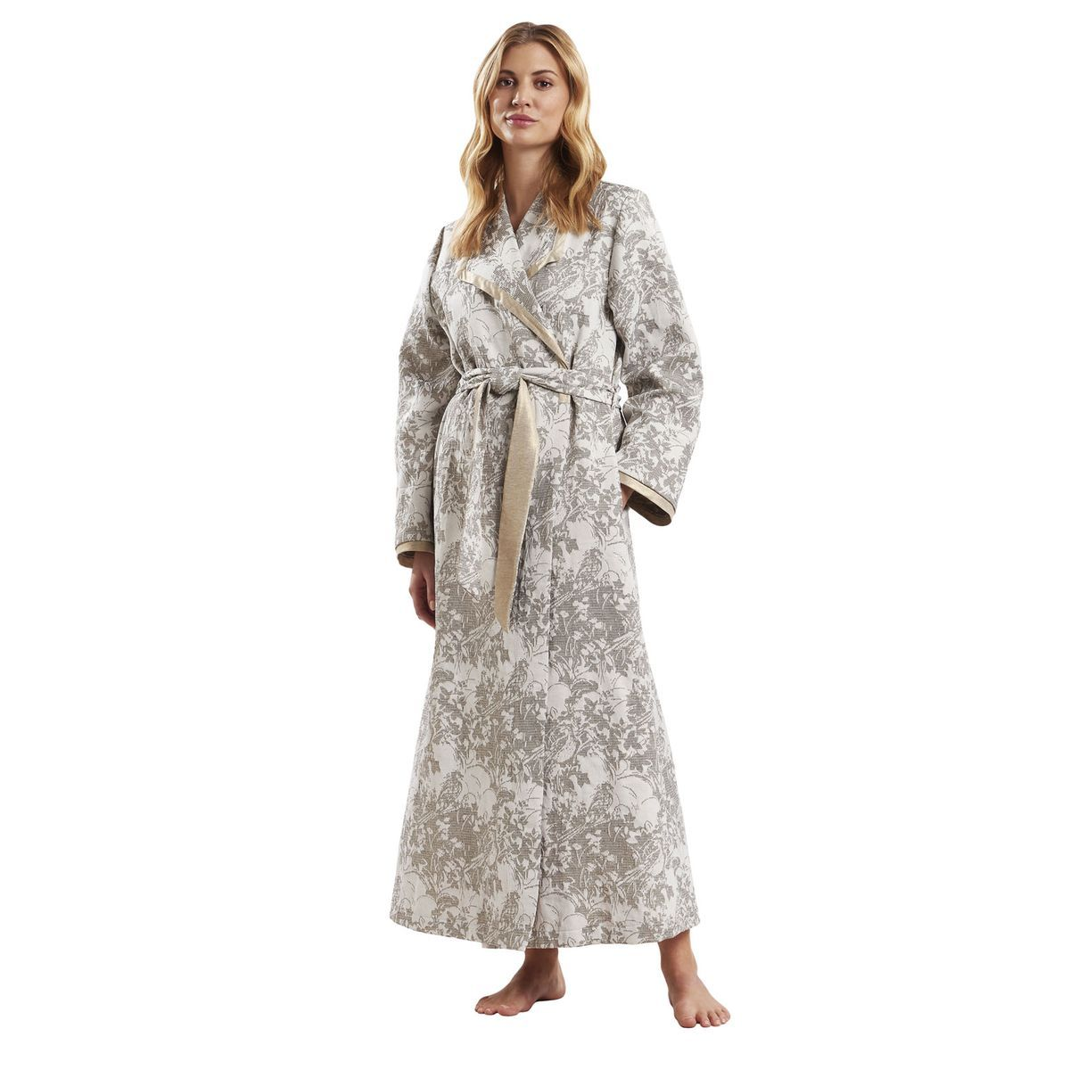 Robe De Chambre Floral Couture Taille 42 Robe De Chambre