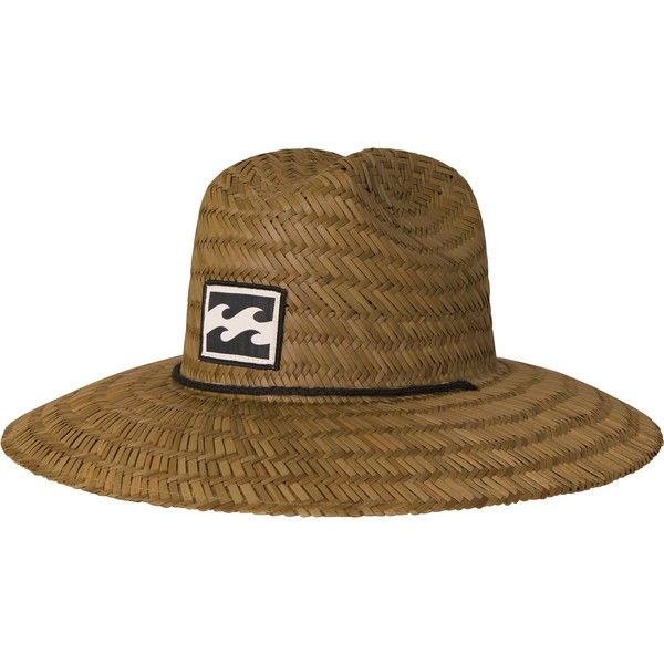01e9fe6e0327a Billabong Unisex Bazza Straw Hat ( 25) ❤ liked on Polyvore featuring  accessories