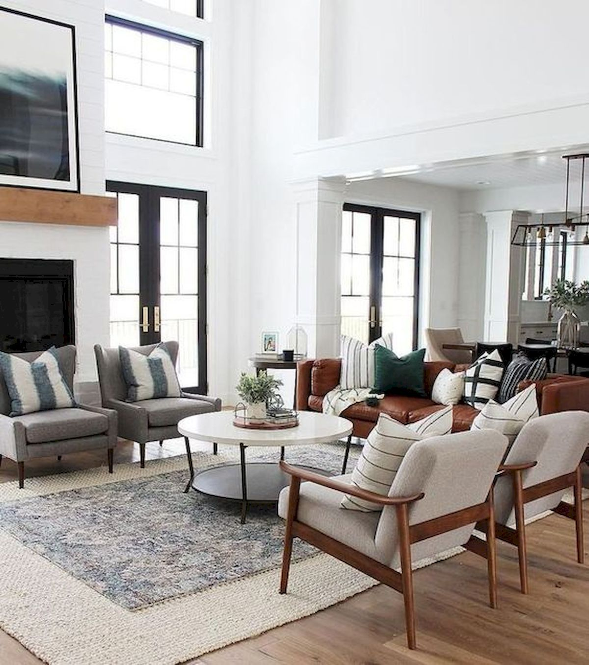 33 Modern Living Room Design Ideas: 33 Farmhouse Living Room Flooring Ideas