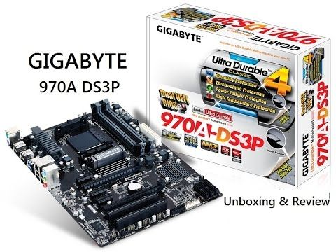 2015 Gigabyte 970a Ds3p Motherboard Unboxing Overview Review Cpu Domain Gigabyte Motherboard Motherboards