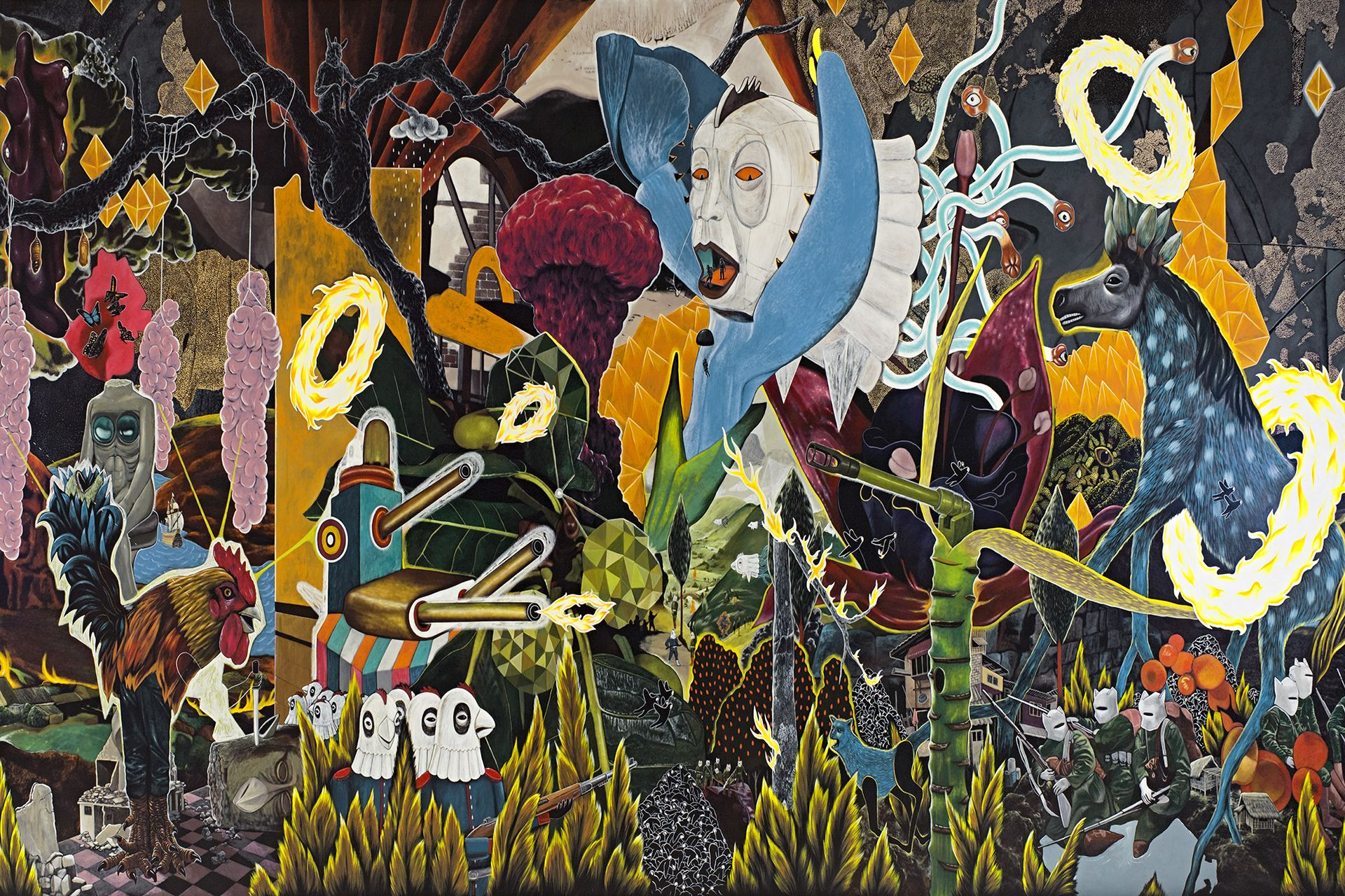 A Vibrant New Exhibition Of Contemporary Art From The Philippines Art Philippine Art Filipino Art