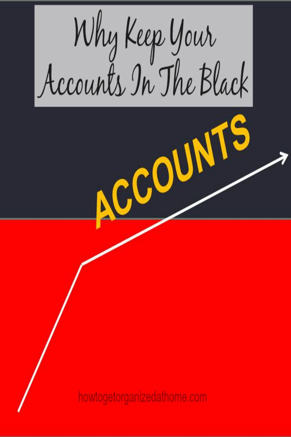Keep Accounts In The Black Money saving tips, Money