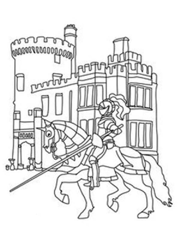 Lego Castle Coloring Pages Coloring Pages For Kids In 2018 - Lego-castle-coloring-pages