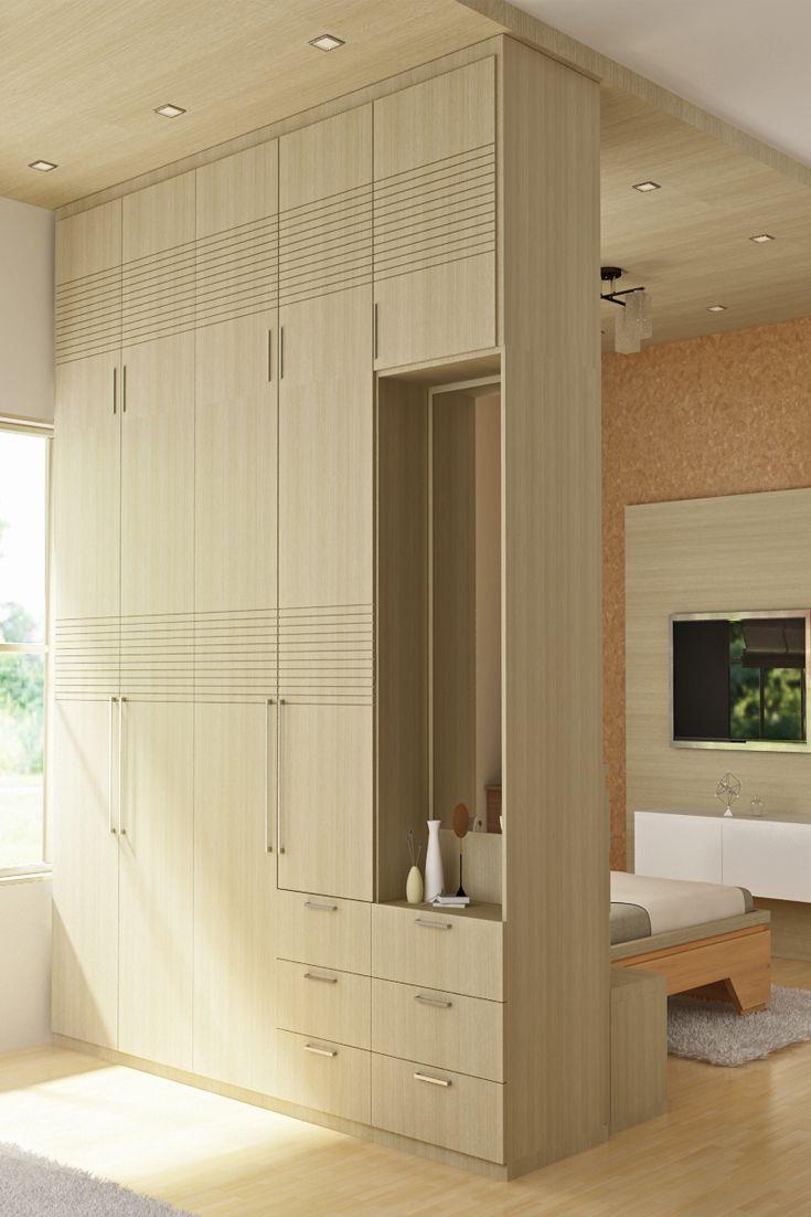 Linear notches.  Wardrobe design bedroom, Luxury homes