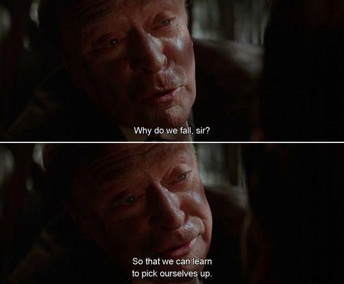 Why Do We Fall Batman Quotes Batman Begins Quotes Best