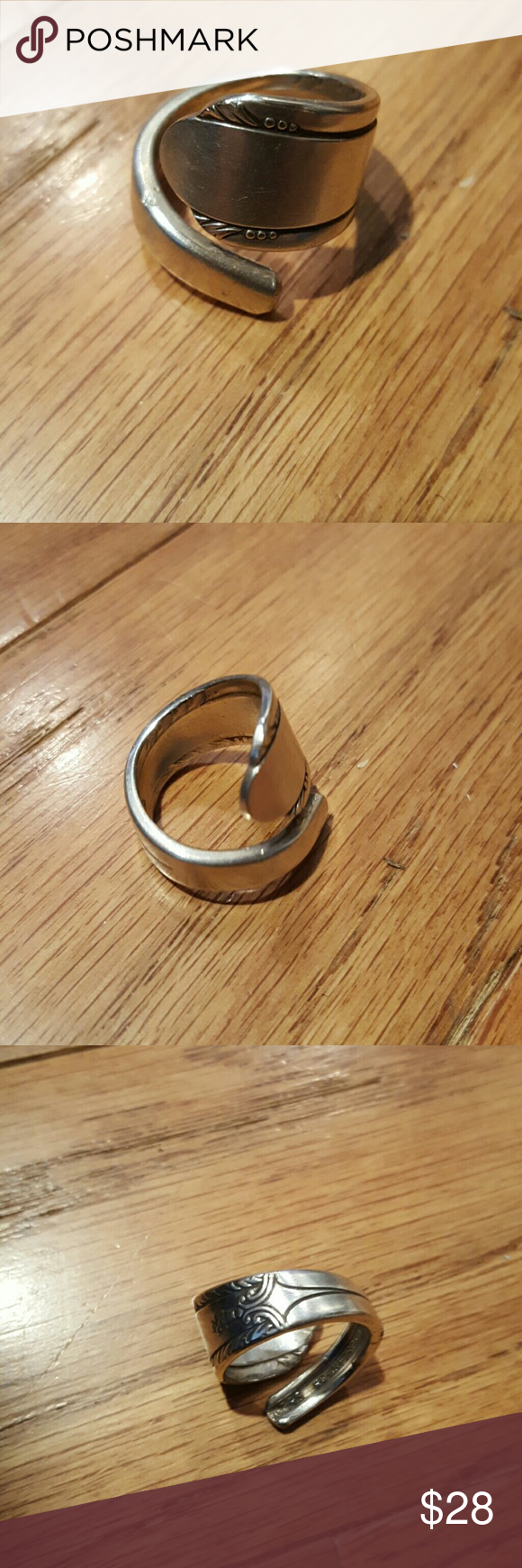 Handmade Custom Size Simple Design Bulkier Ring Disclaimer These Are Antique Items There Could Be Dings From How Old The Were Before