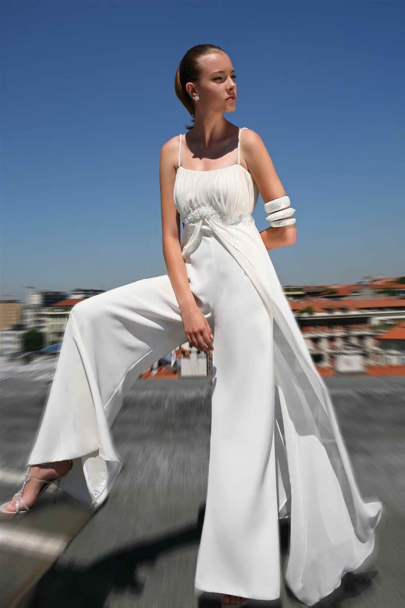 La sposa in pantaloni novias pinterest classy alternative