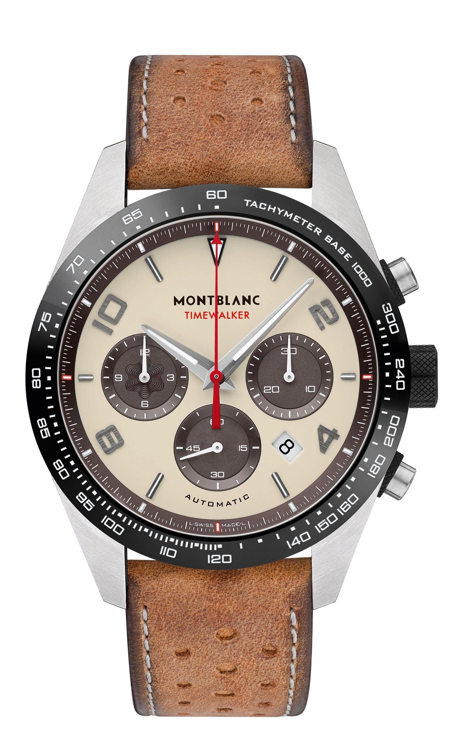 3fdd4494ffb Café Racer  Montblanc TimeWalker Manufacture Chronograph