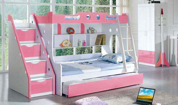 Etagenbett Teenager : Etagenbett mit treppe für mädchen schlafzimmer bedrooms bunk