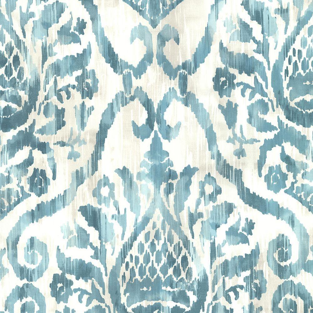 Argos Teal Blue Damask Wallpaper Damask Wallpaper Teal Da