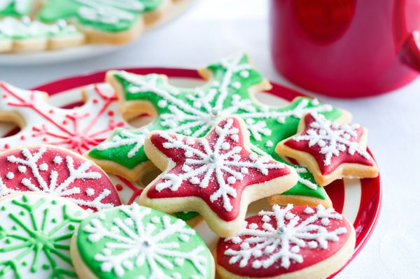 Holiday Sugar Cookie Recipe - #christmas, #cookies, #recipe