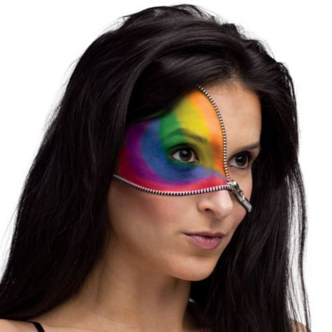 Rainbow Zipper make-up Kit - Special Effects Makeup - Shop All ...