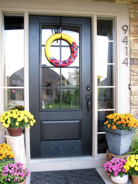 Life Love Larson New Glass Panel Front Door Front Doorporch