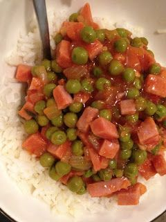 .: Spam and Peas Over Rice