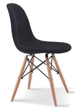Moderni musta tuoli