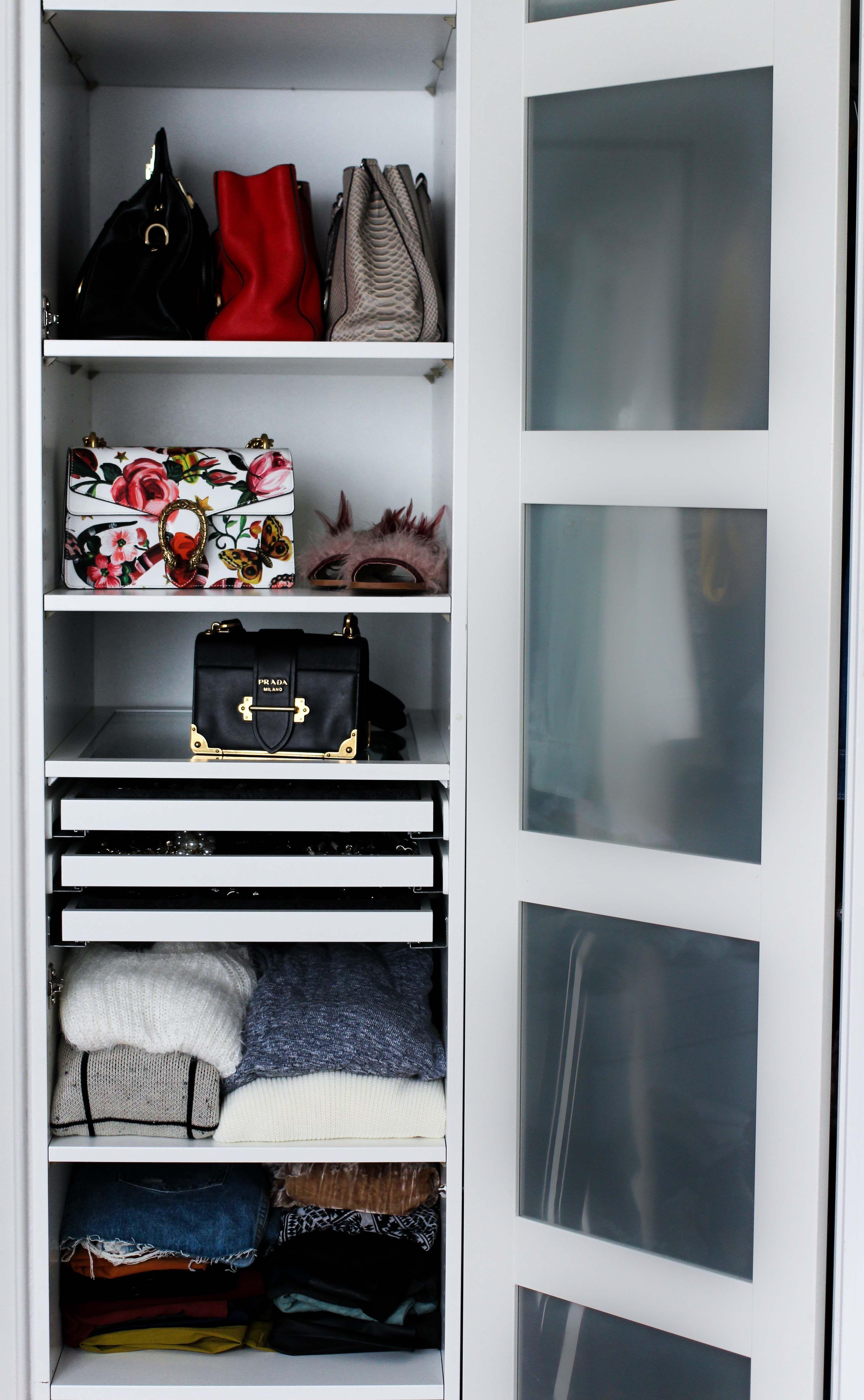 Mein Ankleidezimmer & Tipps für den PAX Kleiderschrank | Open ...