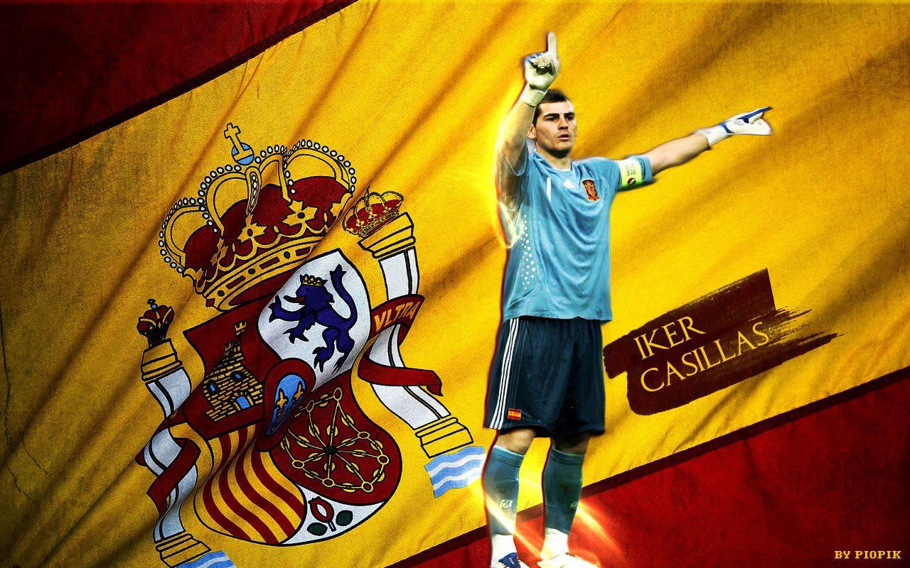 Iker casillas spain 2012 wallpapers pictures team