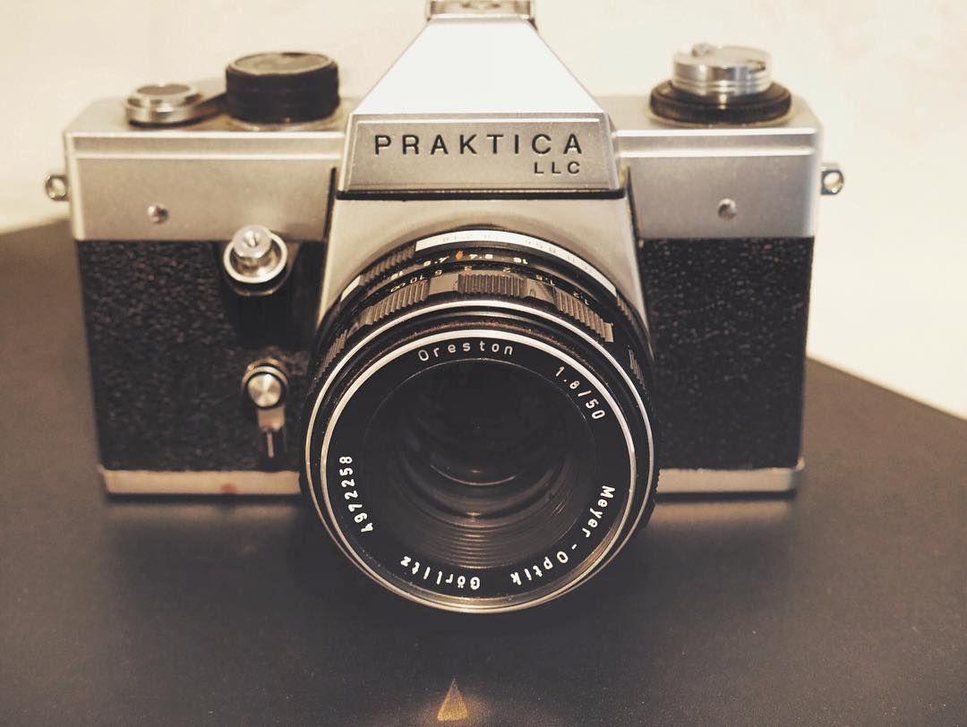 Pentacon praktica llc #camera #analog #gdr #ddr #oreston #meyer