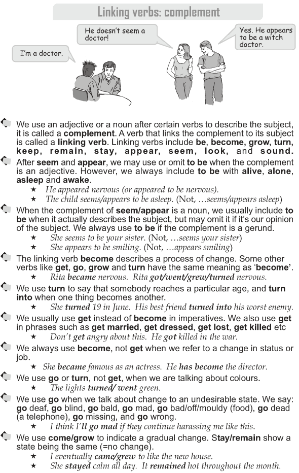 Grade 10 Grammar Lesson 14 Linking Verbs Complement 1 English