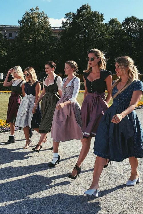 Shoes for the Dirndl: Styling tips for the Oktoberfest pumps, ballerinas, ankle boots: …